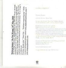 (CB299) Thirteen Senses, Do No Wrong - 2004 DJ CD