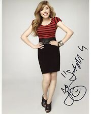 Jennette McCurdy Signed 8x10 Sam Puckett iCarly w/Sam Character Name Exact Proof