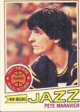 1977 - 1978 Topps Pete Maravich New Orleans Jazz #20 Basketball Card