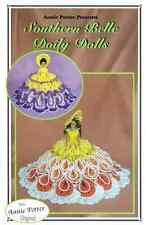 Crochet Southern Belle Doily Dolls crochet doll dress pattern by Annie Potter Pr