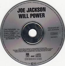 Will Power - Joe Jackson ( A&M Records 1987 ) Erstauflage