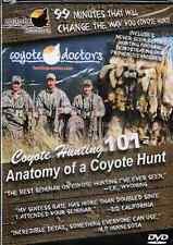 DVD Coyote Doctors: Coyote Hunting 101 predator calling, hunting trapping