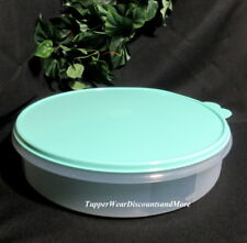 Tupperware NEW Round Container Pie ,Cupcake Taker Carrier Mint Seal