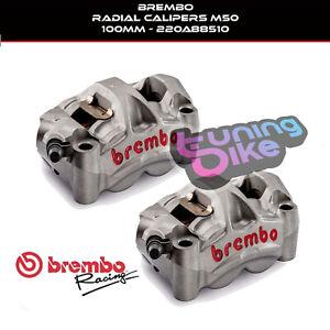 BREMBO BRAKE CALIPERS KIT  MONOBLOCK DUCATI 1198/S/R 09-11 TITANIUM