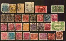 30 Bullseye Brazil SOTN cancel Carimbos SON  very old stamp lot