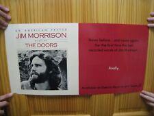 Jim Morrison Poster The Doors An American Prayer Last Recorded Words