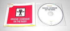 Single CD Groove Coverage - On The Radio  2006  2.Tracks