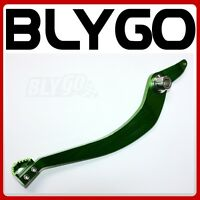 GREEN 340mm CNC Heavy Duty Foot Brake Pedal Lever 125cc 150cc PIT PRO Dirt Bike