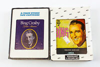 Bing Crosby: Golden Memories & The Best Of 8 Track Tapes w/ Sleeves