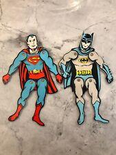 Vintage vinyl Batman Superman Doll Durham Industries Decor Comic