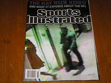Sports Illustrated magazine ,feb.15,2015   the RAY RICE VIDEO   A1