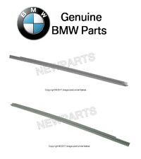 BMW E36 318is 328is M3 Lower Rear Vent Window Seal Set Left+Right Genuine
