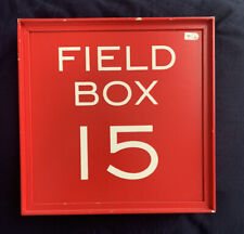 New ListingAuthentic Fenway Park Field Box #15 Game Used Mlb Authenticated