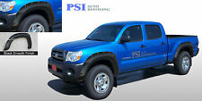 """BLACK PAINTABLE Rivet Fender Flares 2005-2011 Toyota Tacoma for 73.5"""" Bed Only"""
