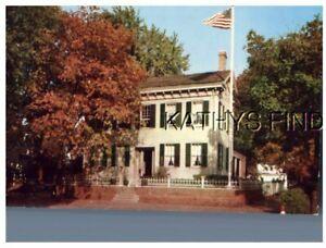 IL POSTCARD W_4768 LINCOLN'S HOME, SPRINGFIELD, ILLINOIS