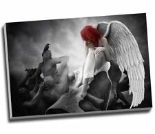 "ANGEL FANTASY Canvas Print Wall Art 30x20"" A1"