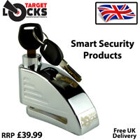 DISC BRAKE LOCK ALARM MOTORBIKE MOTORCYCLE SECURITY SCOOTER BIKE DISKLOK PADLOCK