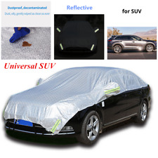 Semi-body Car Covers UV Rain Snow Protection Sun Shade Waterproof Universal SUV