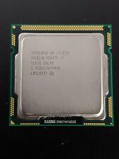 Intel Core i7-870 2.93GHZ 8MB Socket LGA1156 4C/8T SLBJG Processor CPU