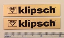 Klipsch Speaker Badge for vintage Heresy Chorus Cornwall
