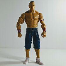 John Cena #2 Mattel Basic Action Figure 2011 WWE WWF Red Armbands Blue Shorts