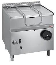 Modular gas kippbratpfanne con acero inoxidable pelvis, capacidad 50 litros gastlando