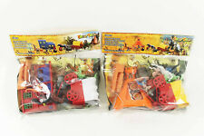 NEU Wild West Indianer & Cowboy Play-Set Spielfiguren Miniatur-Figuren