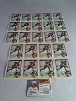 *****Dennis Maruk*****  Lot of 24 cards.....2 DIFFERENT / Hockey
