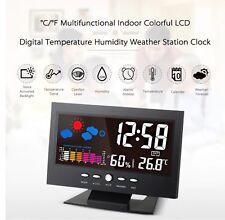 Estación Meteorológica Digital LCD Multipropósito Reloj Calendario, Temperatura, Humedad,