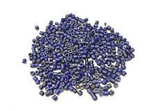 Beads African Dark Blue Glass Beads 8mm