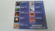 "CD SINGLE ""SINGLES PROMO GLOBAL 12"" 9 TRACKS GERAR QUINTANA RAUXA GERTRUDIS"