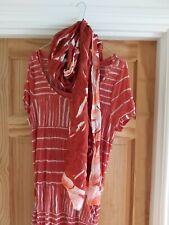 Conjunto completo de sandwich con el vestido, Bufanda Y Collar XXL o 16-18