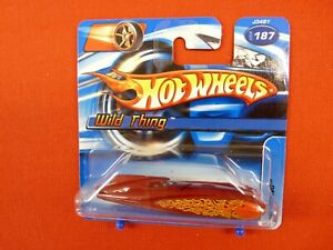 Hot Wheels 2006  #187  Wild Thing  Red    MOC