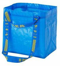 IKEA BRATTBY FRAKTA Small Blue Shopping Tote Bags 3.5 Gallon