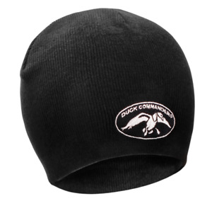 Duck Commander Beanie Stocking Hat - Black in Color - Free Shipping