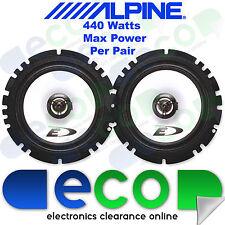 Vw Golf Mk3 91-98 Alpine 16cm 6.5 Pulgadas 440 Watts 2 Vías De Puerta Trasera altavoces del coche