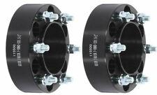 "ECCPP 2pcs 2"" 6x5.5 to 6x5.5 12x1.5 Studs Wheel Spacers For Toyota Isuzu Black"