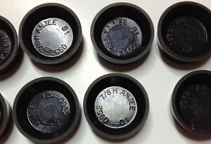 """Lot 12 Rubber Wheel Cylinder Cup 7/8""""(BC3023)"""