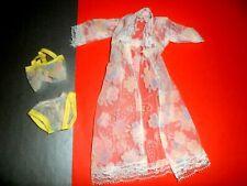 Vtg Maddie Mod Robe Underwear Bra Pastels Clothes Clone Barbie Sindy 1970'S