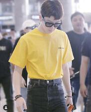 FRESH FRUIT Yellow Oversized T-shirt Shool Is Useless WINNER SEUNGHOON YG KPOP