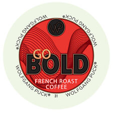 Wolfgang Puck Go Bold Coffee Keurig K-Cups - French Roast, 96 Ct