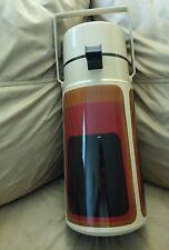Vintage 2 Liter THERMOS Airpot Air Pump Dispenser retro colors and design 2647