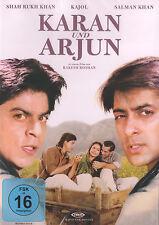 KARAN UND ARJUN - Bollywood Film DVD mit Shahrukh Khan, Kajol und Salman Khan