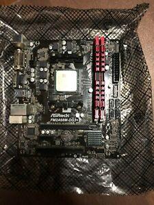 ASRock Motherboard, dual-core cpu and 16gb ram combo