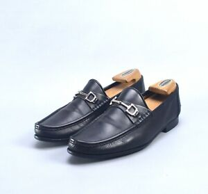 GUCCI Made in Italy Black Leather Horsebit Loafers Shoes UK8.5 / 42.5 / US9.5