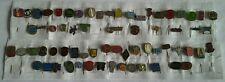 Job Lot Collection of 66 Antique / Vintage Dutch Advertising Lapel Pin Badges