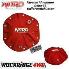 Nitro Xtreme Dana 44 Differential Cover In Red - Fits Jeep TJ JK XJ With Dana 44
