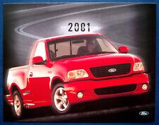 Prospekt brochure 2001 Ford SVT F-150 Lightning Pickup (USA)