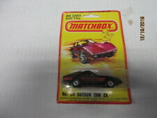 VINTAGE MATCHBOX LESNEY #24 DATSUN 280 ZX IN THE PACKAGE