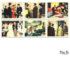Father of the Bride Original Lobby Card Set of 6  - Elizabeth Taylor - 1950 - NM